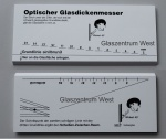 Isolier-Glas-Dickenmesser